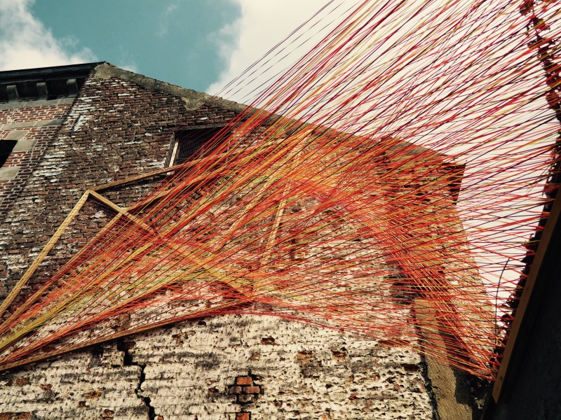 Urban installation in Mons 2015