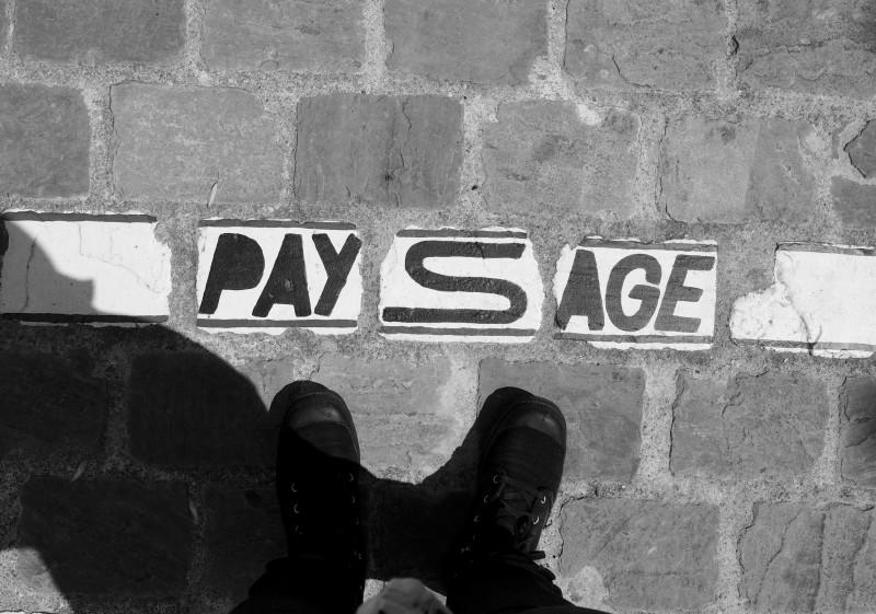Paysage - Urban Installation in Mons 2015