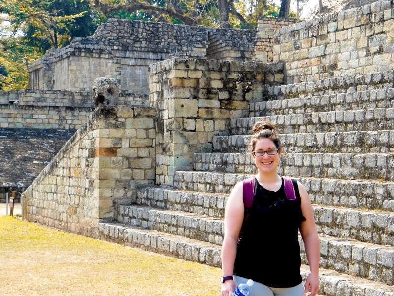 Au Honduras en 2012, mon sourire dit tout.
