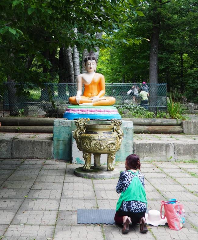 Tam Bao Son. Buddhist Temple near Montreal.