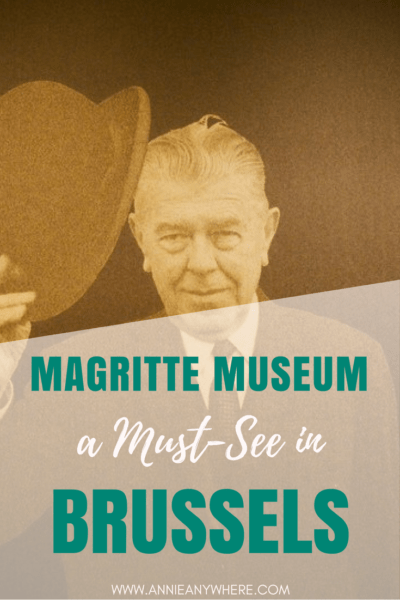 I loved Magritte since I'm a teenager. No need to say that stopping by Magrtte Museum in Brussels was a must while in Belgium. #Museum #Belgium #Brussels #Magritte