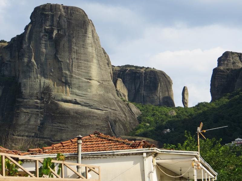 Rock formations in Kastraki