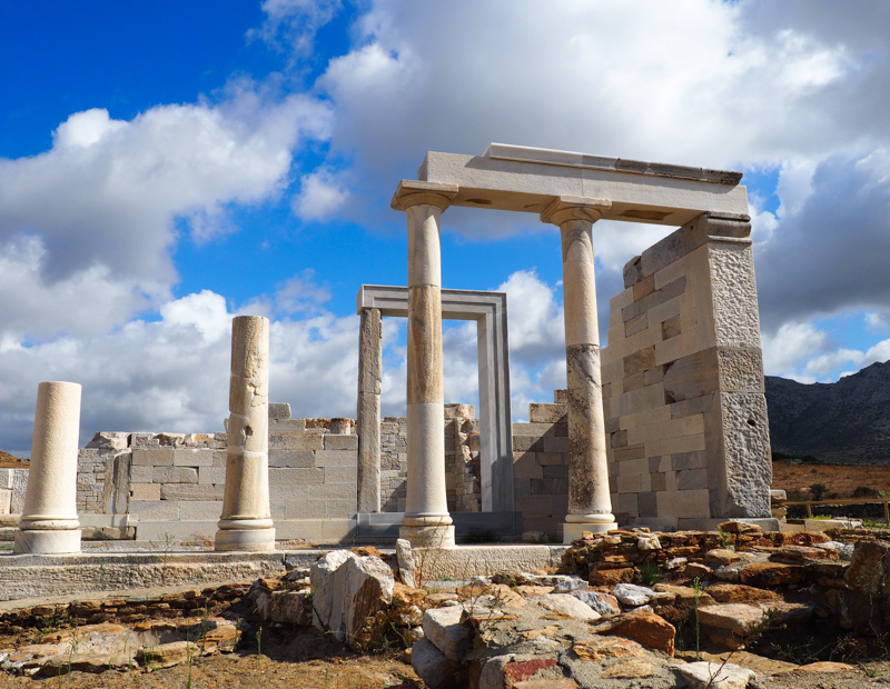 Temple of Dimitri on Naxos