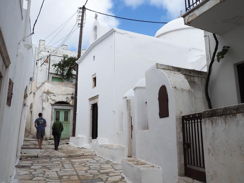 Road trip on Naxos : Apiranthos