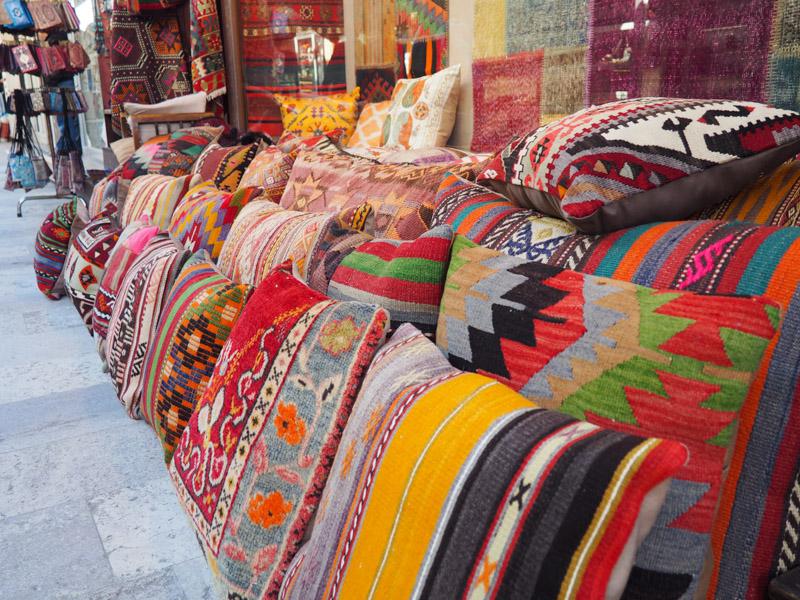 Magasiner au Grand Bazar d'Istanbul