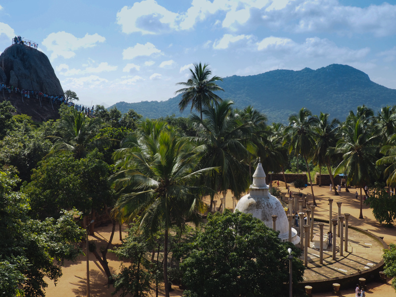 Site Bouddhiste de Mihintale au Sri Lanka
