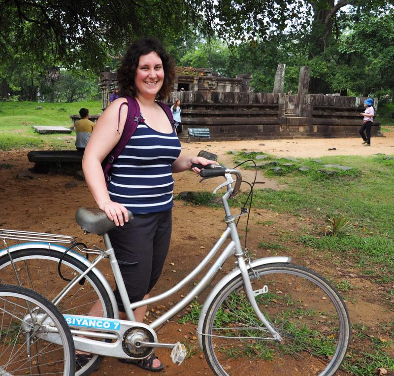 Visite de Polonnaruwa à vélo