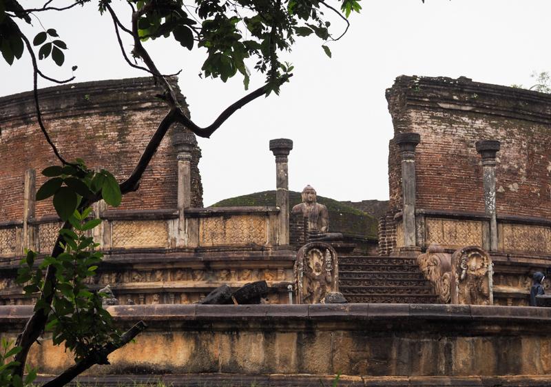 Ruines de Polonnaruwa