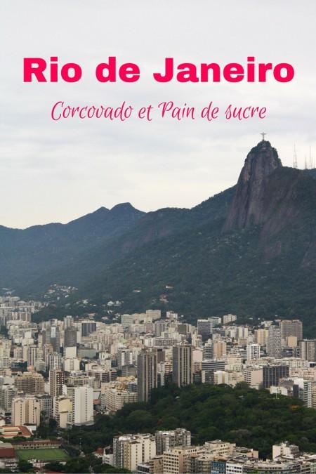 Rio de Janeiro, Brésil - La réalité d'une visite de Christ le Rédempteur et du Pain de sucre.