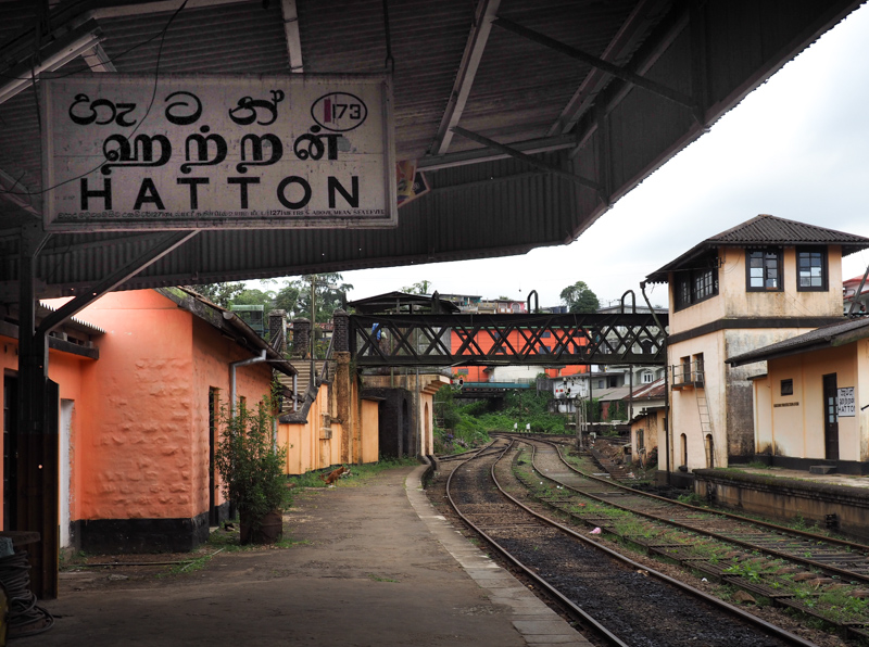 Station Hatton au Sri Lanka