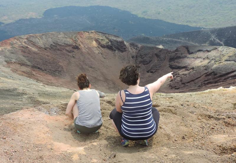 Vue du sommet du Cerro Negro