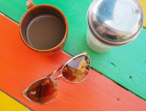 Boire un café à Granada