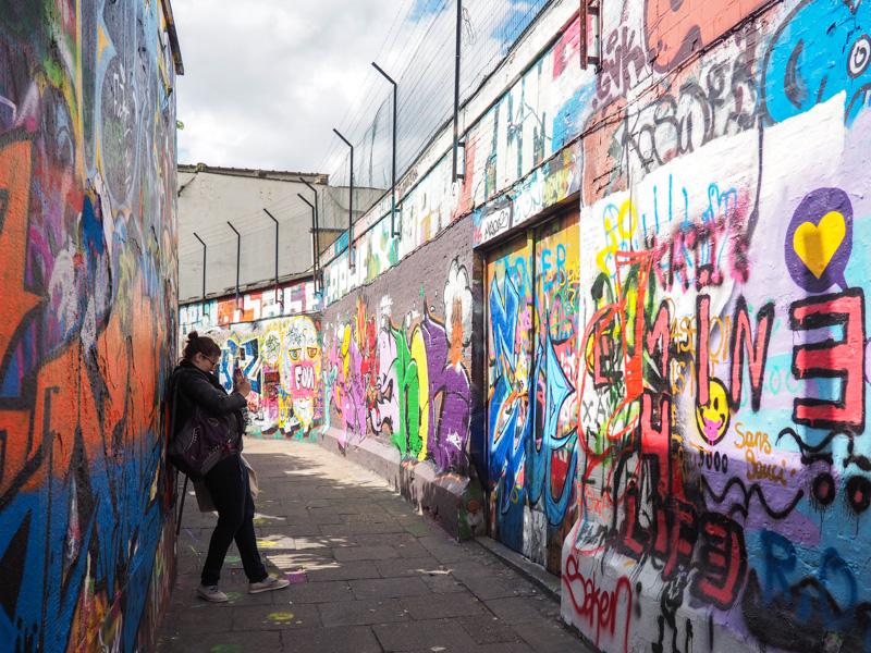 Art de rue à Gand en Belgique