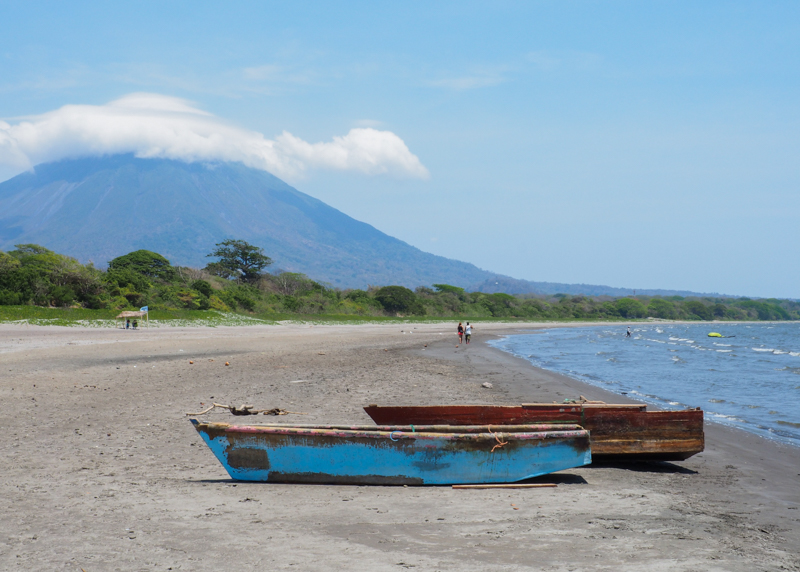 Plage sur Ometepe