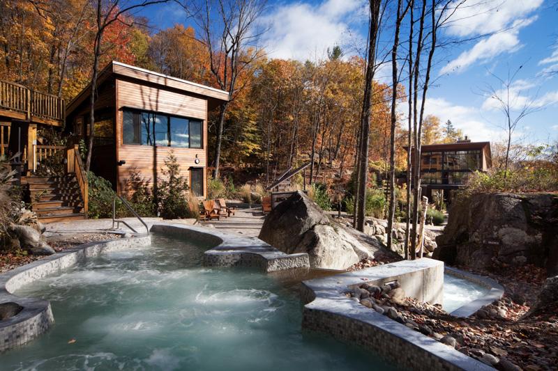 Spa la Source Bains nordiques dans Lanaudière