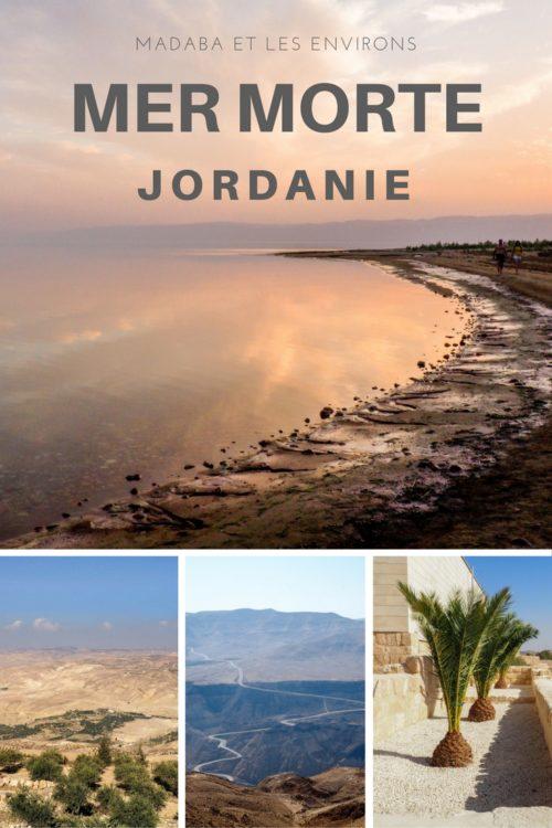 Madaba et les environs: la célèbre mosaïque, le mont Nebo et la mer morte.
