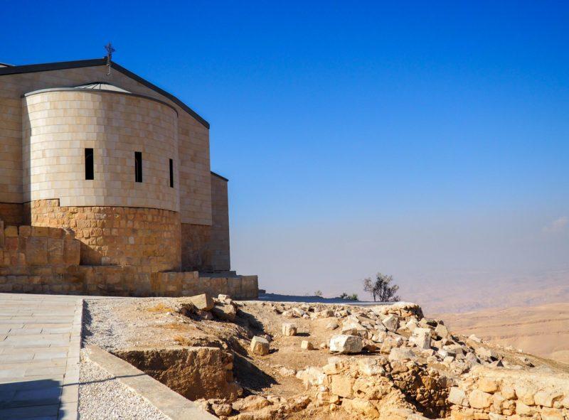 Mont Nebo en Jordanie