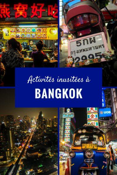 Quoi faire à Bangkok? Découvrez le Chinatown de nuit!