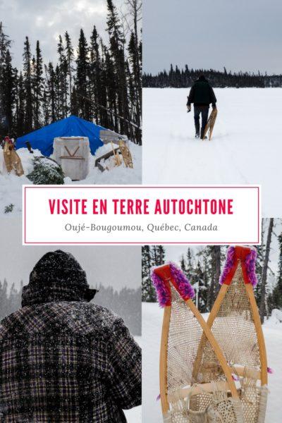 Visite du ville d'Oujé-Bougoumou, à la Baie-James. Explorer le nord du Québec autrement en découvrant la culture crie.