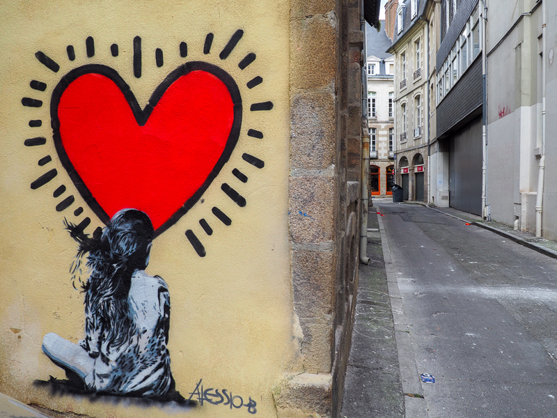 Alessio-B. Street art à Rennes.