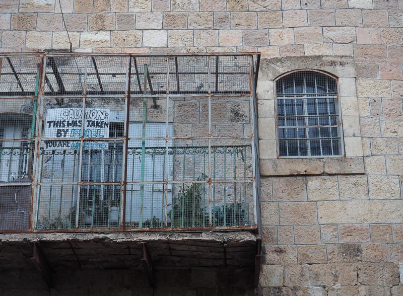 Apartheid Street à Hebron