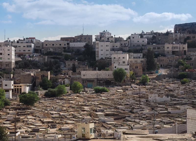 Ville d'Hebron en Palestine