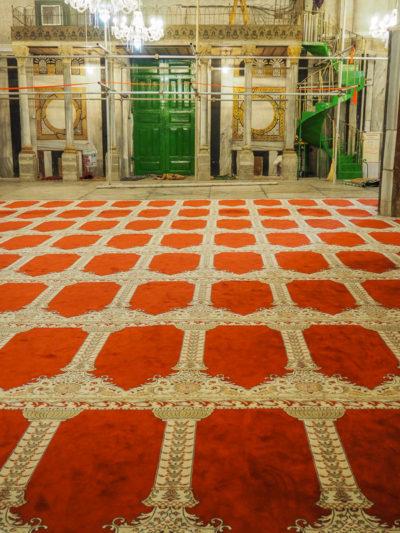 Tombe des Patriarches, mosquée de Hebron