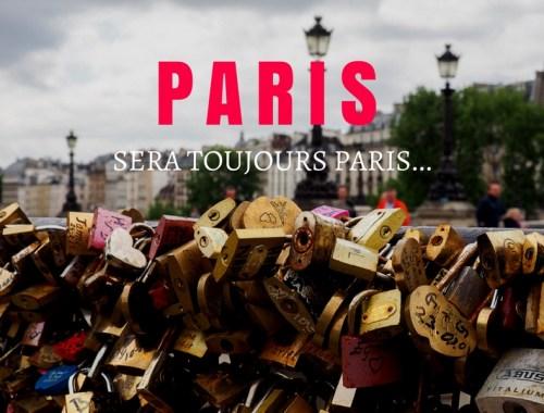 Visiter Paris pour la première fois