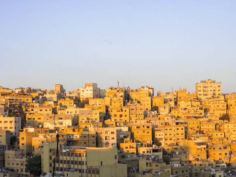 Visiter Amman lors d'un itinéraire en Jordanie