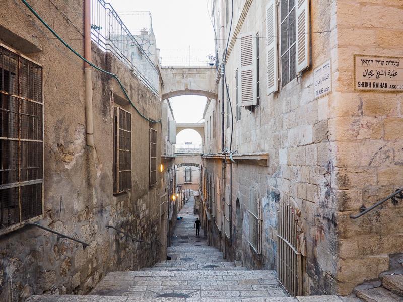 Vieille ville de Jerusalem.