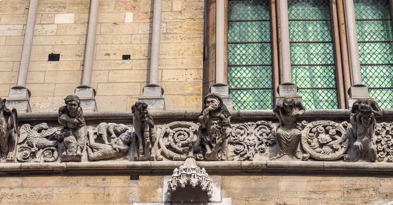 Gargouilles de Notre-Dame de Dijon.