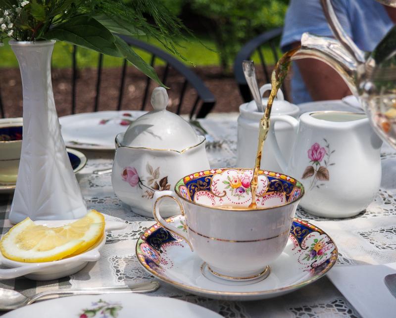 Service de thé à l'anglaise à Sherbrooke dans les Cantons-de-l'Est.