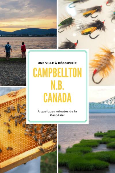 Voyage au Canada   Découvrez la ville de Campbellton, au Nouveau-Brunwisk! À quelques minutes de la Gaspésie, au Québec, elle offre une tonne d'activités de plein air.