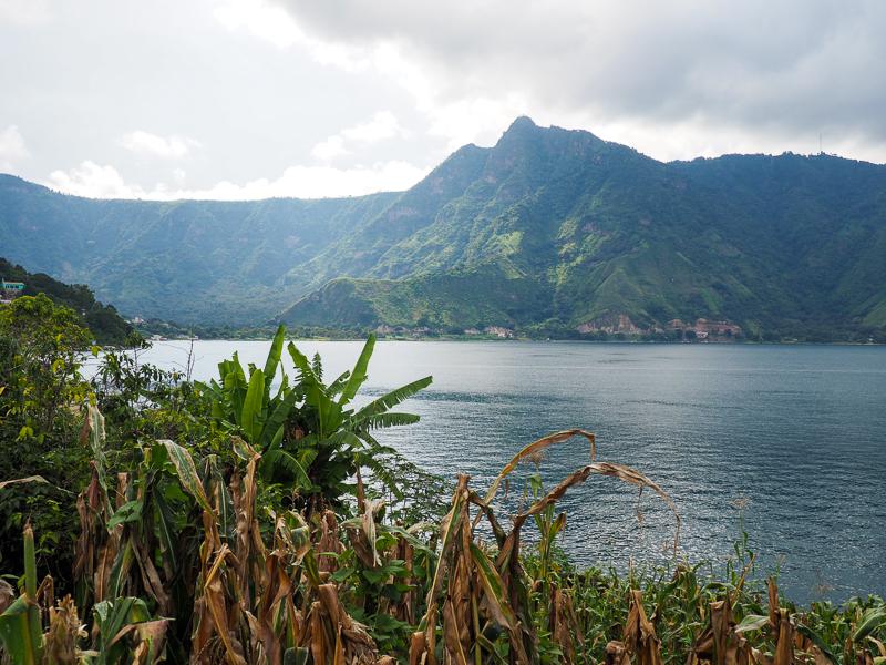 Lac Atitlán au Guatemala