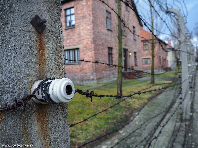 Camp d'extermination d'Auschwitz, en Pologne.