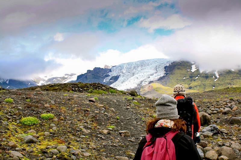 Randonnée sur le plus grand glacier d'Islande