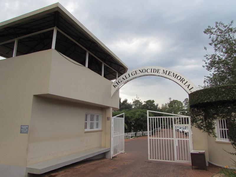 Mémorial du génocide à Kigali, au Rwanda