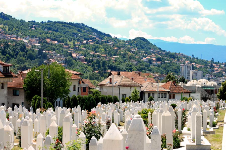 Sarajevo, en Bosnie-Herzégovine