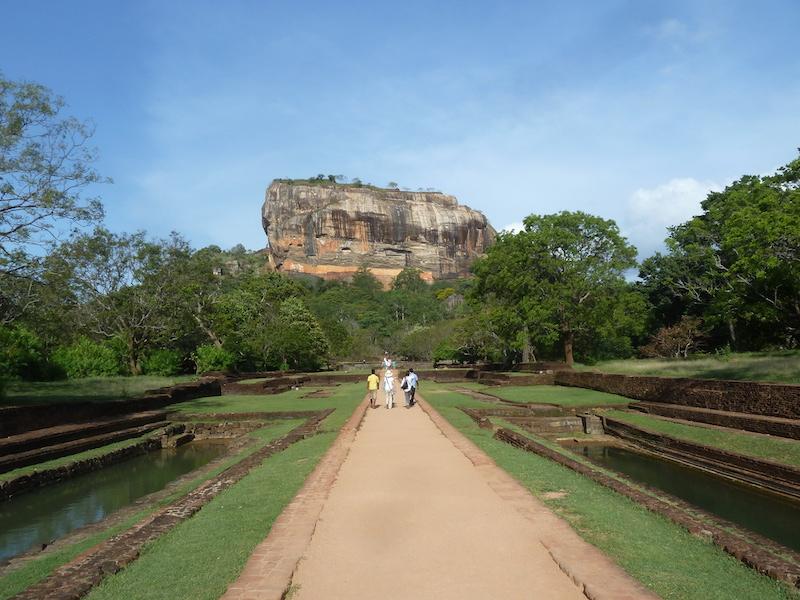 Sigiriya, le rocher du lion, au Sri Lanka