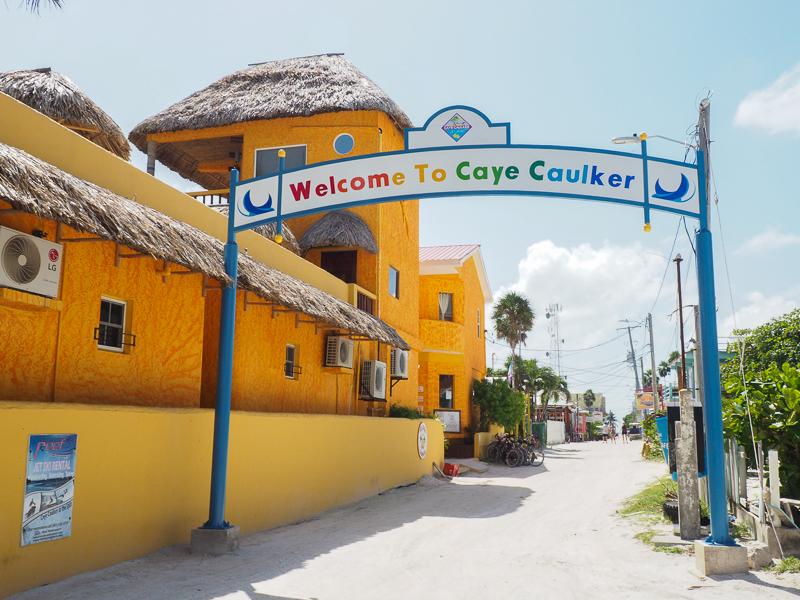 Bienvenue à Caye Caulker