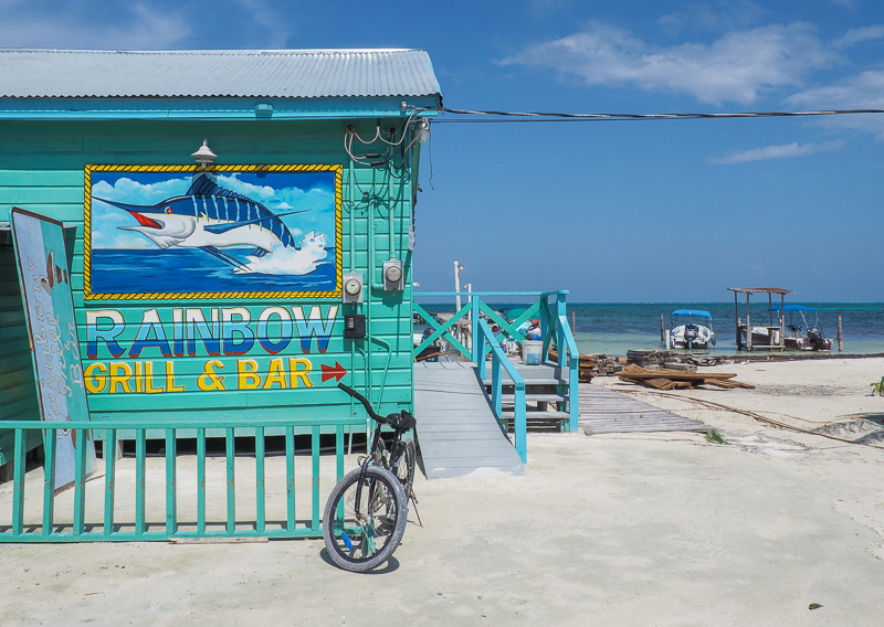 Restaurant Rainbow Grill & Bar de Caye Caulker