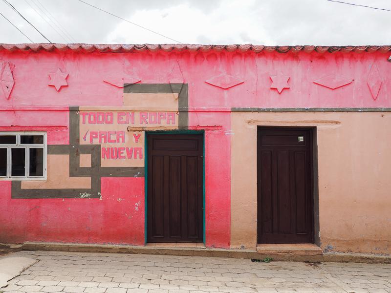 Maison colorée à San Juan Atitlan