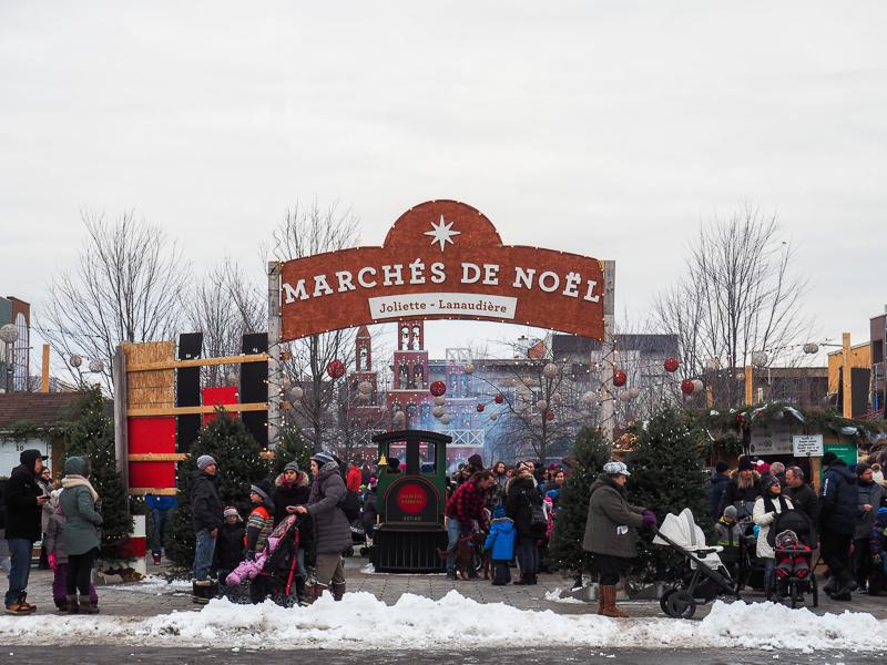 Marché de Noël de Joliette, dans la région de Lanaudière