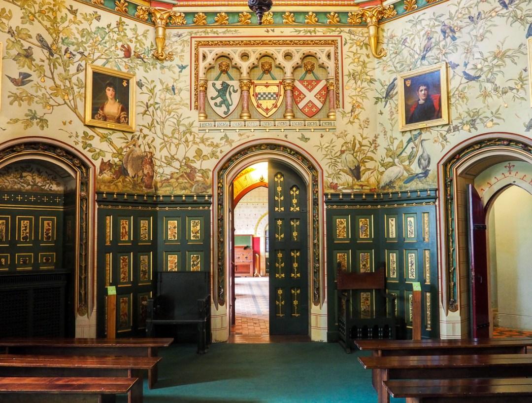 Salle principale de Castle Coch