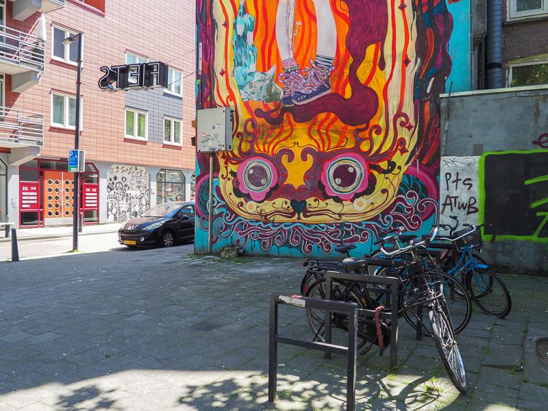 L'art de rue se fait coloré dans les rues de Rotterdam