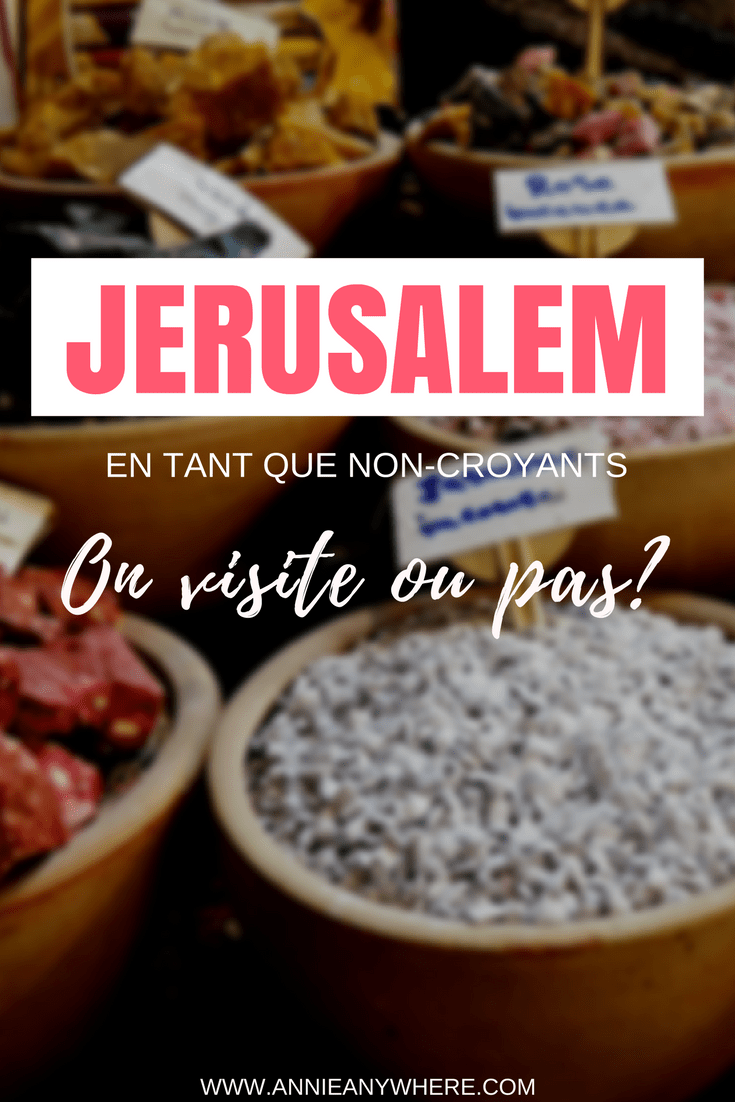 Je n'étais pas certaine d'aimer Jerusalem, comme je suis non-croyante. Finalement, observer les gens est une aventure en soi dans cette ville d'Israël. #Israel #Jerusalem #voyage