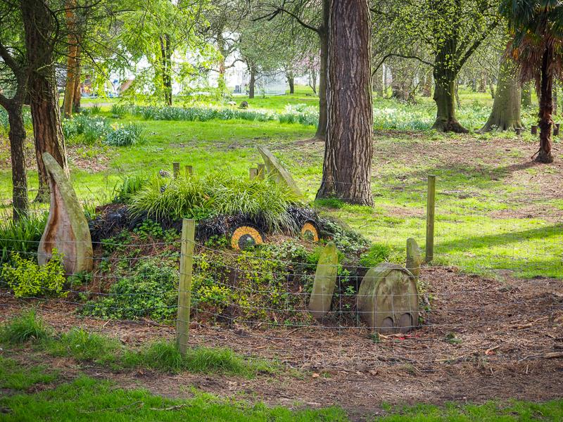 Créature du Bute Park de Cardiff