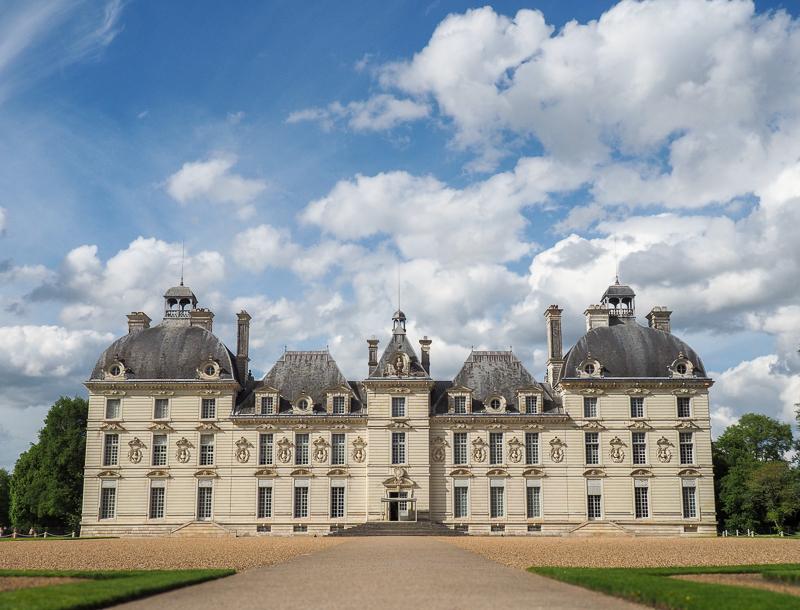 Château de Cheverny, qui a inspiré le château de Moulinsart