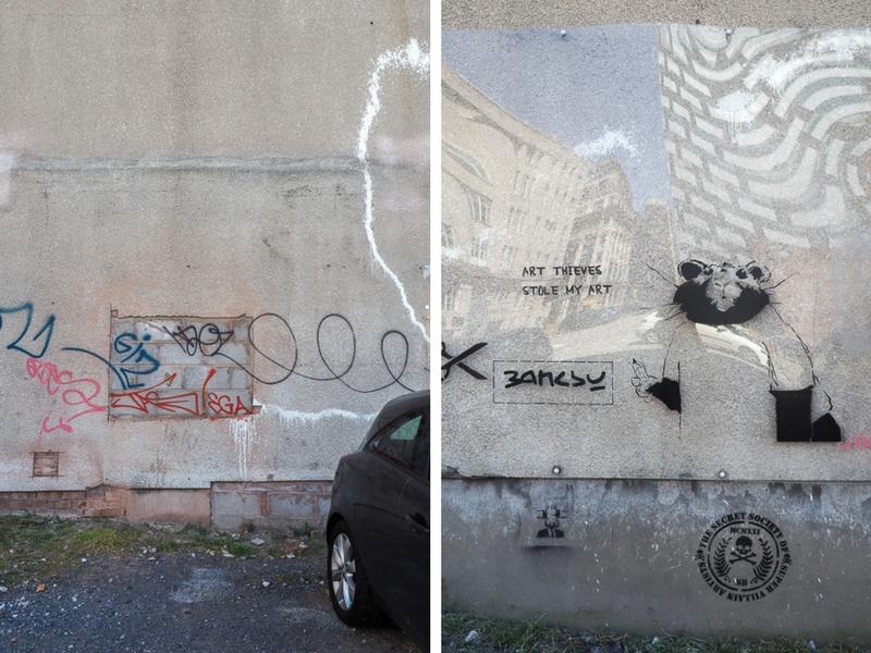 Banksy volé par Sicura Group à Liverpool