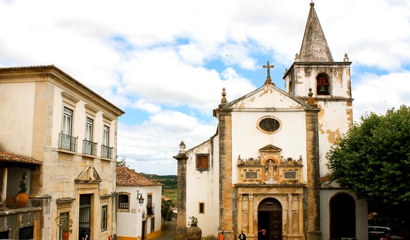 Village d'Obidos au Portugal